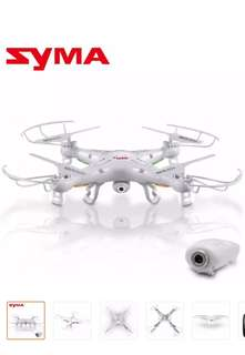 Syma X5C-1 2.4GHz Gyro RC Quadcopter Drone with Camera (White)