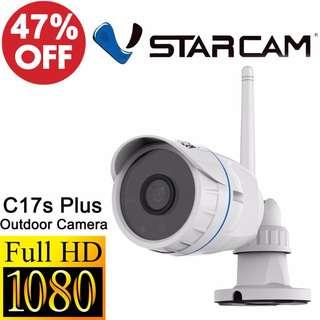 CCTVSG.NET Vstarcam C17S Plus 1080P FullHD IP67 Waterproof Outdoor IPCamera ++++