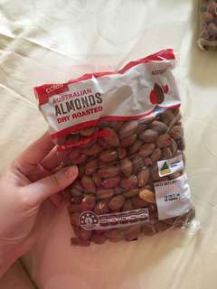 Dry roasted almonds australia