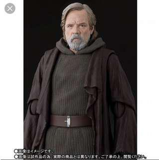 Shf luke skywalker star wars the last jedi luke skywalker Marvel Legends Hottoys Mezco 美國隊長 雷神 figure