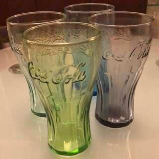McDonald's Coca Cola 最經典弧形可口可樂杯4色(綠、藍、青檸、炭灰)