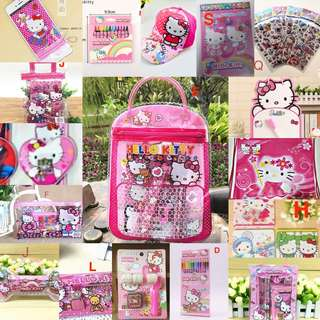 Customise Hello Kitty Goodie Bag / Goody Bag/ Children Gift