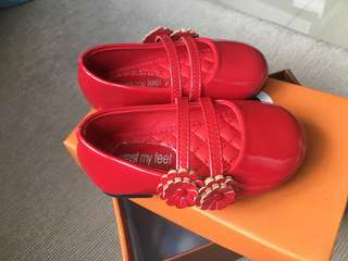 Meet My Feet red shoes (size 20)