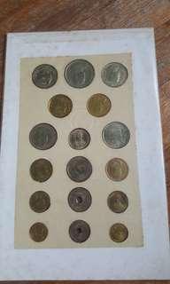 Thailand old coins
