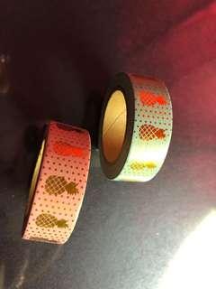 🚚 Foiled Washi Tape