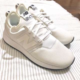New Balance 247 - White - US 6 (unboxed)