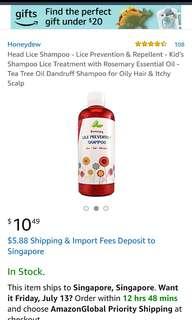 Head Lice Shampoo for Kids