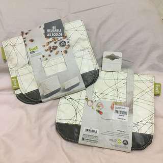 Gourdo's Reusable Snack Bag with Velcro Closure
