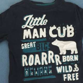 F&F Blue long sleeves, 2yo, boy