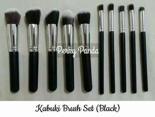 BLACK KABUKI BRUSH SET