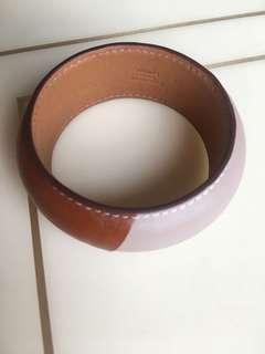 Hermes 皮手環 ! 正版