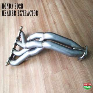 HONDA CIVIC FD1, FD2R HEADER EXTRACTOR EXHAUST