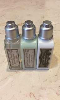 L'Occitane Verbena Lotion/Shampoo/Conditioner
