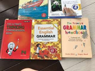 P4 English Assessment Books