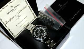 Bernard H Mayer Depuis 1871 Nauticus Lady Watch