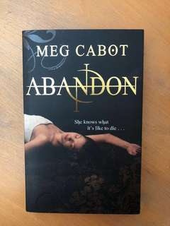 🚚 Abandon by Meg Cabot