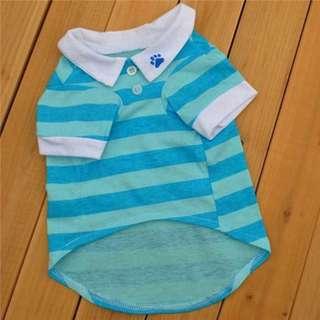Pet Stripes Polo Shirt