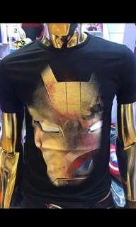 Glow In The Dark Civil War Marvel Shirt #july70
