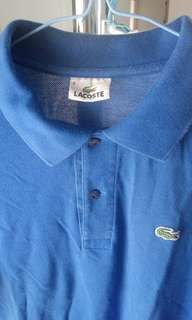 Original Lacoste 2 Button Men's Shirt