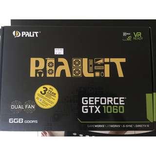 Palit GTX 1060 6GB (Dual Fan)