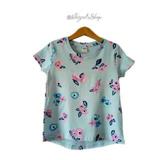 Blue Floral T-shirt (6 Yrs Old)