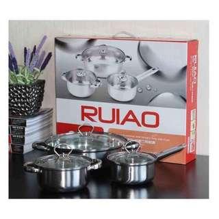 Ruiao 6 pcs cookware