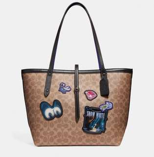 AUTHENTIC COACH X DISNEY MARKET TOTE BAG