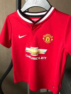 football/soccer Manchester United Jersey 5-6years old boy