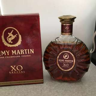 全新未開封 人頭馬XO Remy Martin購自1987年 已絕版珍藏 好酒 婚禮宴客 Wine 父親節禮物 生日禮物 擺大壽 結婚禮物 Whisky Spirits Hennessy Martell Radtignac 軒尼斯 馬爹利 威利來 Red Wine Champange 烈酒 白蘭地