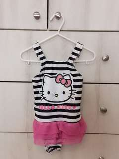 Hello Kitty swimsuit 18-24 mths