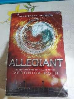 ALLEGIANT BOOK