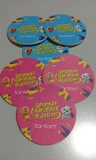Cup Coasters (6 Pcs)