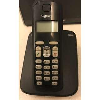 SIEMENS GIGASET AS300 CORDLESS PHONE SET