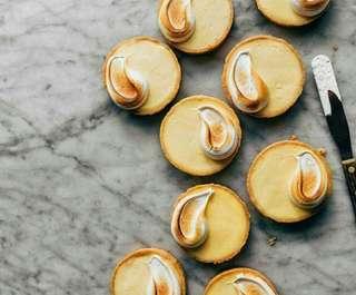 ( Belletastry )Lemon Tart meringue