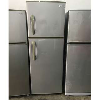 Grey LG Fridge Peti Ais Ice Refrigerator
