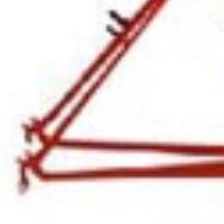 Red Thin Pole Shaft