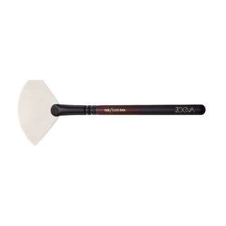 NEW zoeva limited edition burgundy 129 deluxe fan highlighter brush