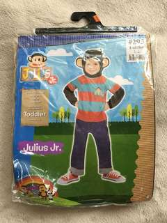 Julius Jr or Monkey Costume for Toddlers (1-2yo)