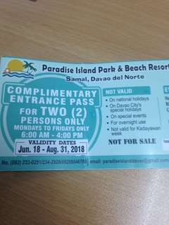 Samal Island Resort Daytour Pass