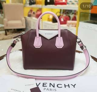 BRAND NEW GIVENCHY ANTIGONA SMALL TRI-COLOR