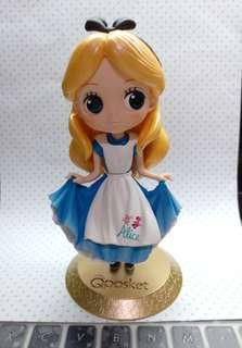 公主公仔 愛麗絲  夾娃娃 迪士尼角色 disney Qposket