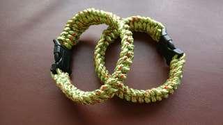 Paracord Bracelet   Tie