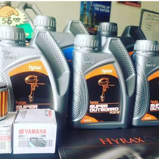 PROMOTION 4T DAN 2T RACING HIGH PERFORMANCE ENGINE OIL HYRAX OIL