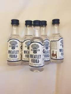 Alcohol mini - wheatley vodka