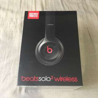 Beats solo 2 wireless 全新公司貨 藍芽 無線 耳罩式耳機  頭戴式