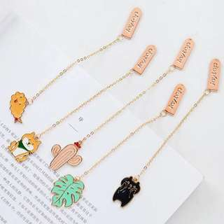 Cute Enamel Bookmark