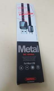 Remax MicroUSB cable