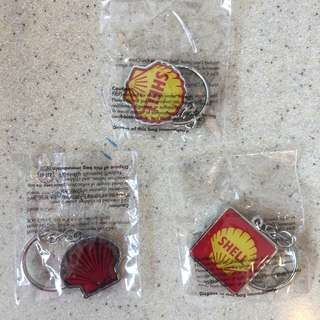 Limited Edition Shell Heritage Key Ring Collection (3 units)