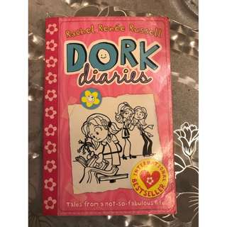 Preowned Kids, Girls DORK DIARIES books, storybooks, Rachel Renée Russell, Children Books, Education, Tales From a Not-So-Fabulous Party Girl, Diary