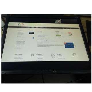 """Faulty ViewSonic 21"""" LCD Monitor (Viewsonic VP2103b)"""